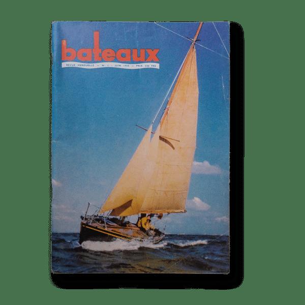 N°1 de la revue Bateaux
