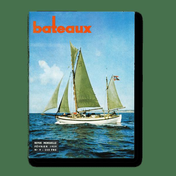 N°9 de la revue Bateaux