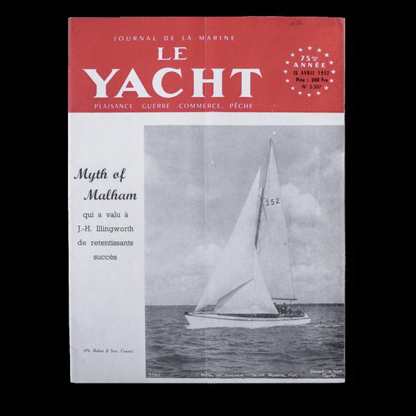 Revue Le Yacht avril 1952