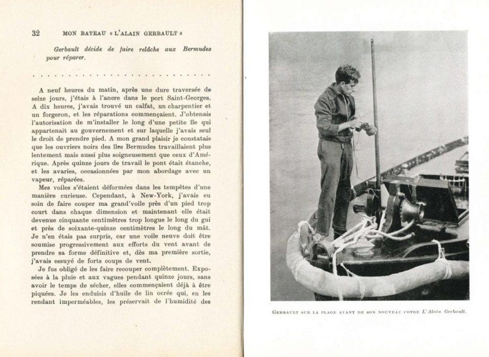 "Mon bateau ""L'Alain Gerbault"""