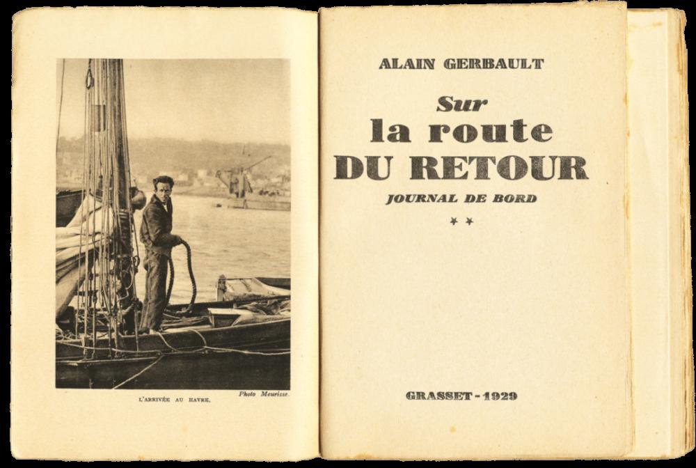 Alain Gerbault – Sur la route du retour