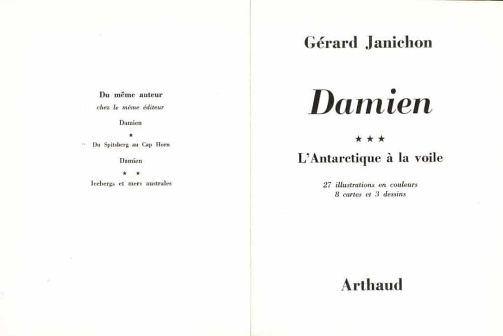 Gérard Janichon - Antarctique à la voile