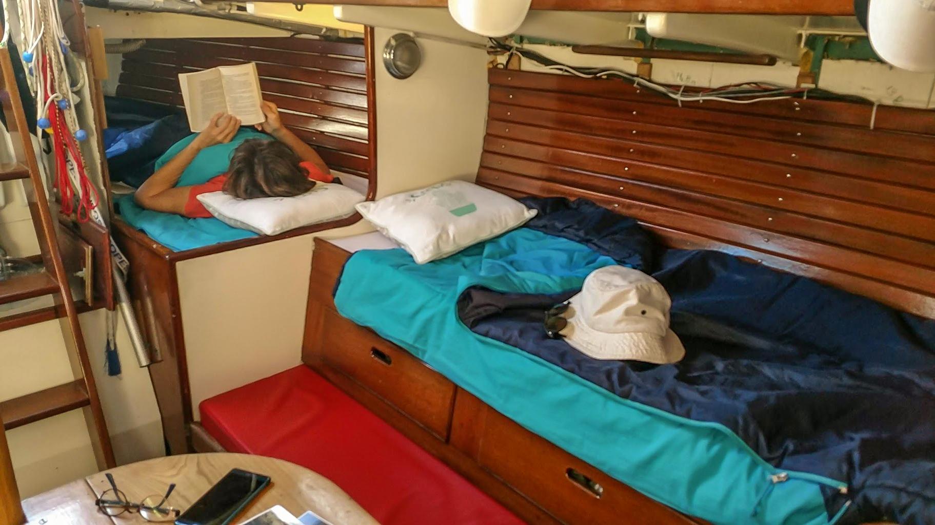 Repos à bord de Bryell