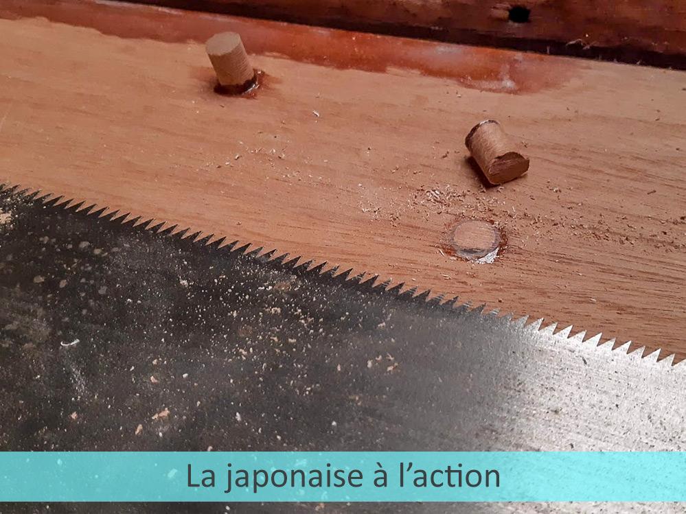 Tapon pour japonaise